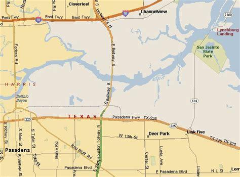 map of deer park texas gulf coast region deer park texas area map