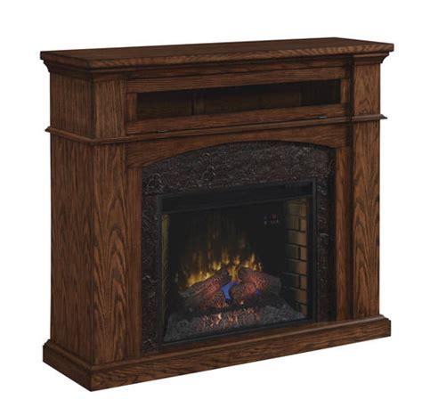 54 quot oakwood dual mantel in midnight oak at menards 174