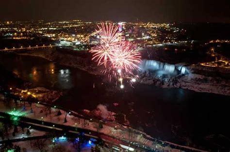 falls new years niagara falls new years 2016 fireworks live
