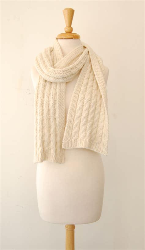 Knitting Pattern Cashmere Scarf | jennifer knits los angeles jennifer knits custom pattern