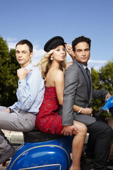 the big bang theory sheldon and penny exchange presents do you like this show sheldon penny and leonard from
