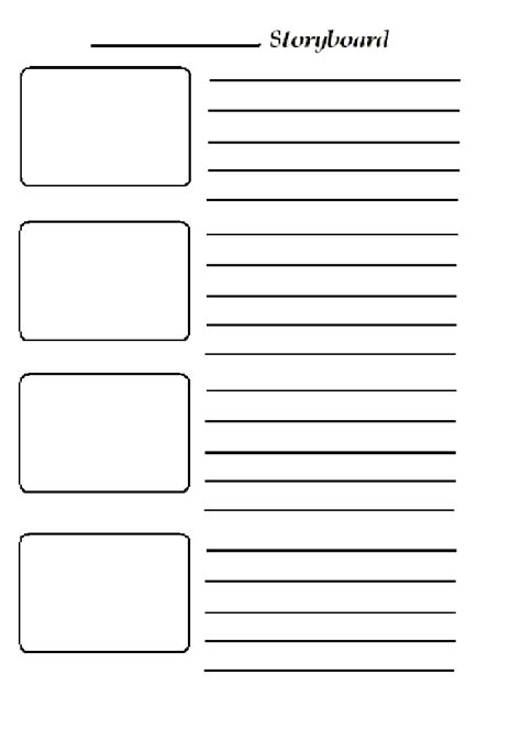 storyboard template pre production studies storyboard templates