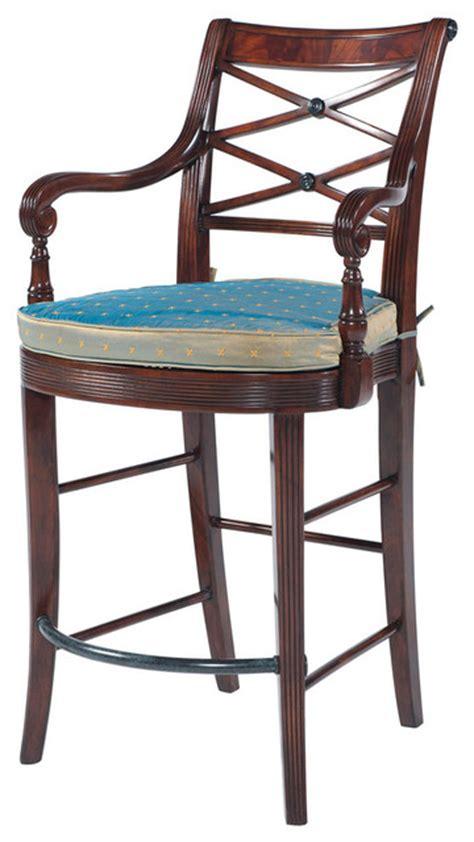 theodore alexander bar stools theodore alexander a glass of chagne bar stool