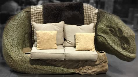 star wars couch kick back and relax on a star wars dewback sofa nerdist