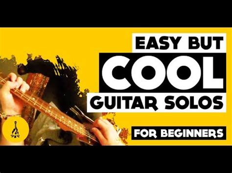 guitar tutorial for beginners youtube easy but cool guitar solos santana guitar solo lesson