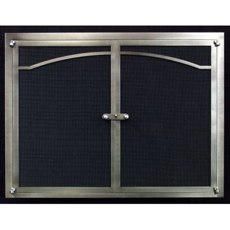 buy fireplace doors fyre gate with frame san
