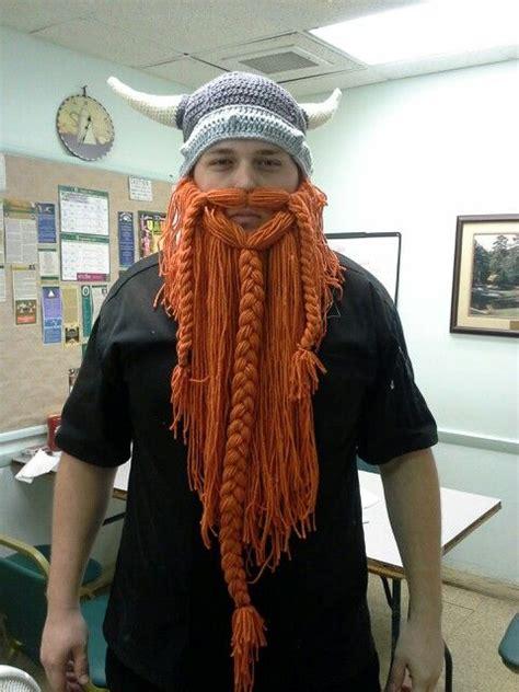 knit viking hat with beard pattern crochet viking hat and beard my style
