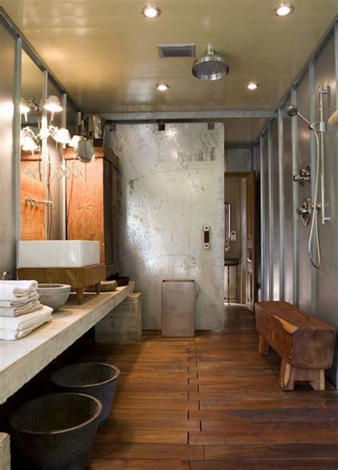 industrial doors  accent  modern home interior design
