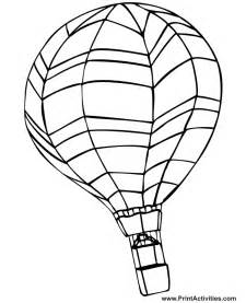 air balloon coloring page air balloons coloring pages coloring home