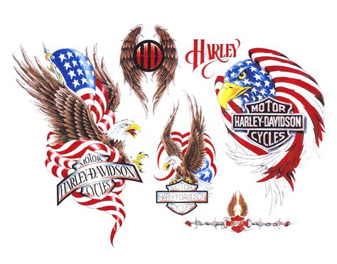 harley davidson eagle tattoo designs harley davidson eagle designs