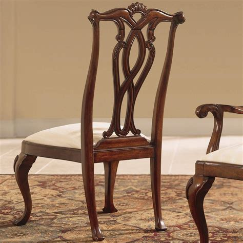 American Drew Cherry Grove Dining Room American Drew Cherry Grove 45th Dining Side Chair With Pierced Back Hudson S Furniture