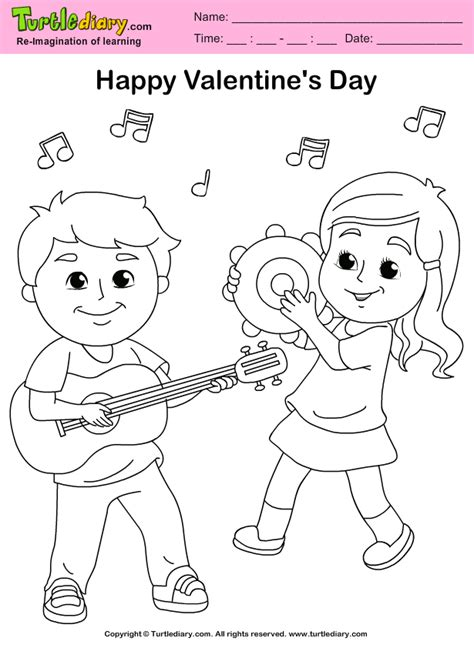 music valentine coloring pages image detail for colormecrazyorg valentine coloring pages