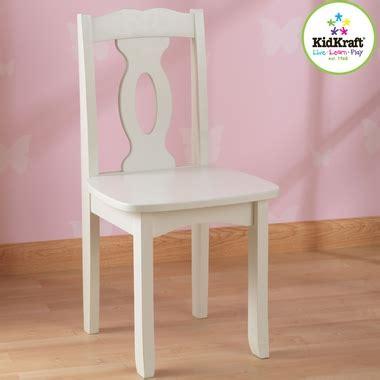 brighton chair white 16701 by kidkraft tables