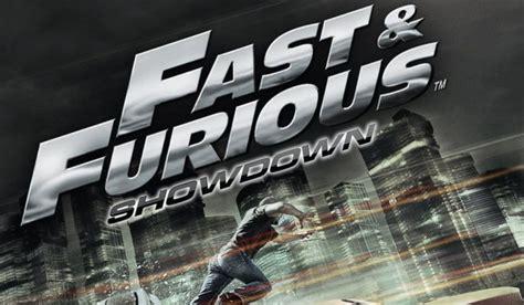 fast and furious wii u fast furious showdown toco llegar 225 a australia en
