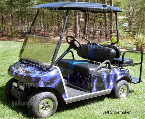 golf cart wrap template golf cart template images