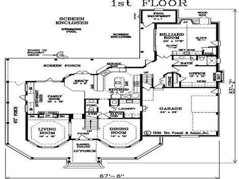 houses floor plans