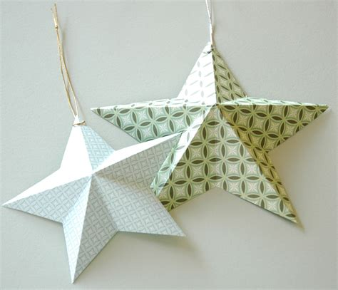 paper ornament template 3 d enchantink