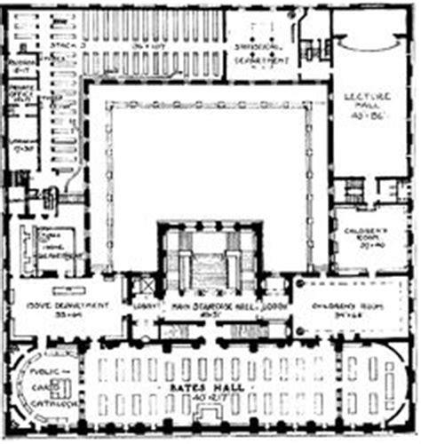 public building floor plans 1000 images about boston public library mckim building