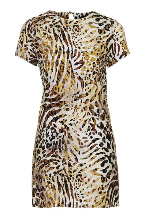 leopard print dress by topshop finds topshop