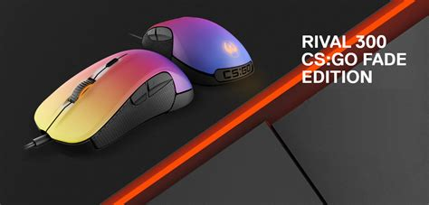 Sale Mouse Gaming Steelseries Rival 300 Cs Go Hyperbeast Edition steelseries rival 300 cs go special edition mouse