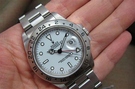 **SOLD**Rolex Explorer II ref# 16570   Polar Porcelain Dial   Mint   Vintage Rolex & Patek