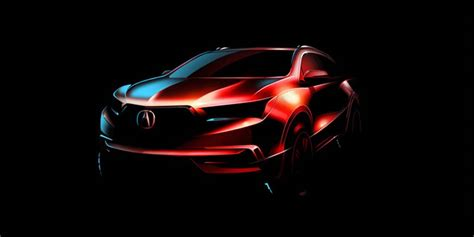 2020 Acura Mdx Detroit Auto Show by Acura Set To Debut 2017 Mdx At Ny Auto Show