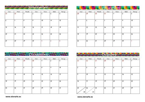 Calendario Por Meses 2017 Calendario 2017 Por Mes Pictures To Pin On