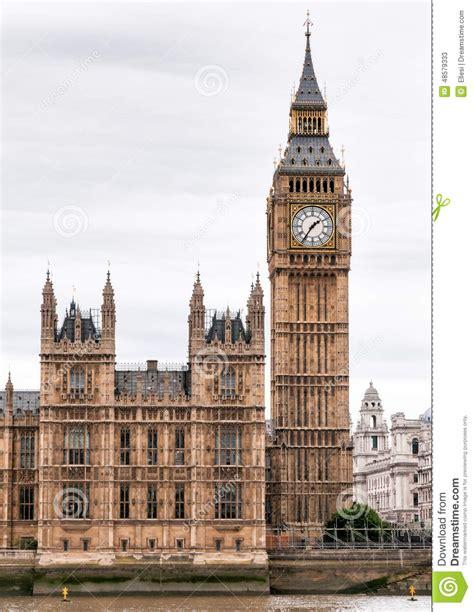 imagenes vintage big ben torre de reloj de londres big ben foto de archivo imagen