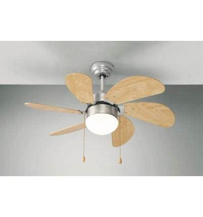 ventilatori da soffitto perenz perenz ventilatore da soffitto con kit luce in metallo