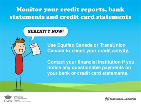 Sle Credit Card Statement Canada No Fraud For You How To Fight Identity Theft