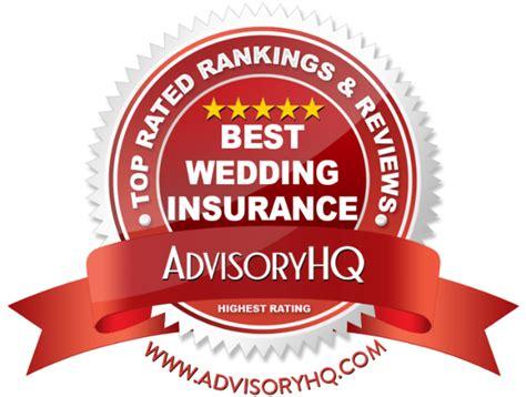 Wedding Car Insurance Cost by Top 6 Best Wedding Insurance 2017 Ranking Top Wedding