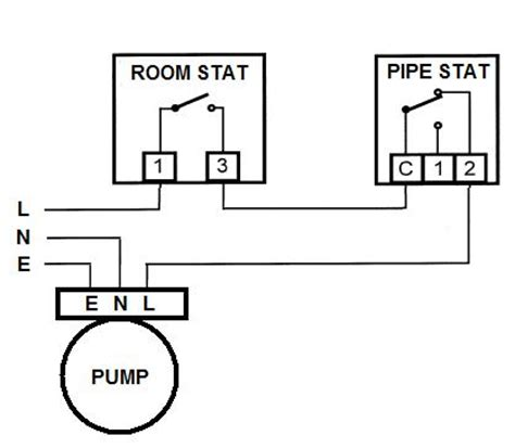 wiring diagram for pipe thermostat to efcaviation