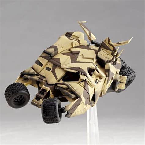 Revoltech Sci Fi Batman Bane Tumbler Cannon Camo sci fi revoltech 047 batman batmobile tumbler canon bane