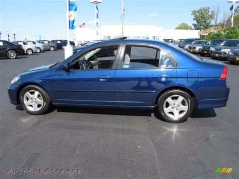 2004 honda civic ex sedan in eternal blue pearl 000812