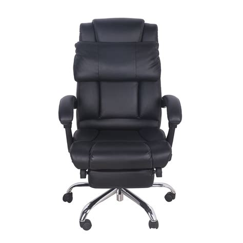 reclining desk chair with footrest reclining office chair reclining office chair with