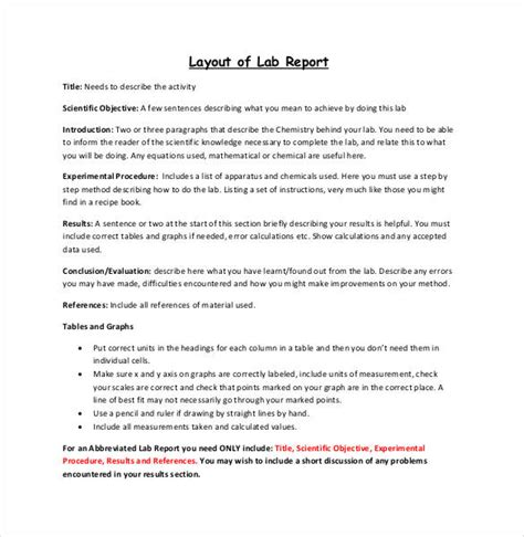 layout of a report writing lab report layout beneficialholdings info