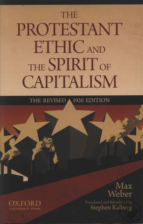 the layout book max weber the protestant ethic and the spirit of capitalism by max