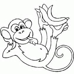 templates for monkeys coloring pictures of bananas coloring pictures of apples 1 170 feira