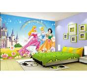 Kids Room Girls 3d Photo Wallpaper Cartoon Disney Princess HD