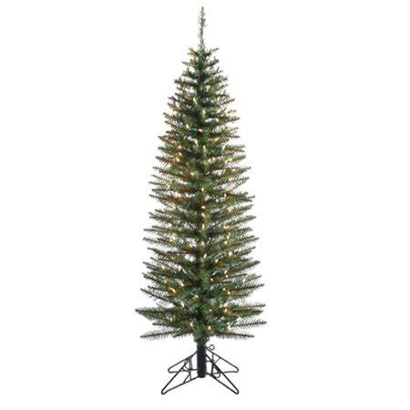 northlight 7 ft pre lit ozark pine pencil artificial tree clear lights walmart