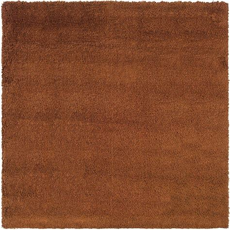 8 Foot Square Area Rug Home Decorators Collection Loft Rust 8 Ft X 8 Ft
