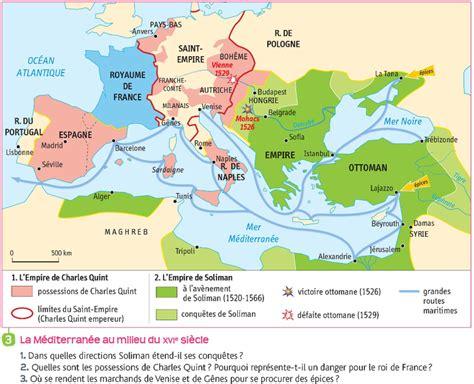 Histoire De L Empire Ottoman Pdf by Le Monde Au Xvie Si 232 Cle Au Temps De Charles Quint Et De