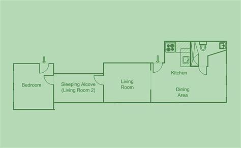 railroad style apartment floor plan translating new york s 15 apartment types a railroad