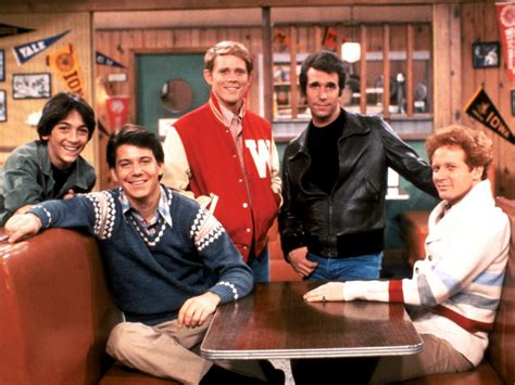from happy days the of the tv show quot happy days quot the