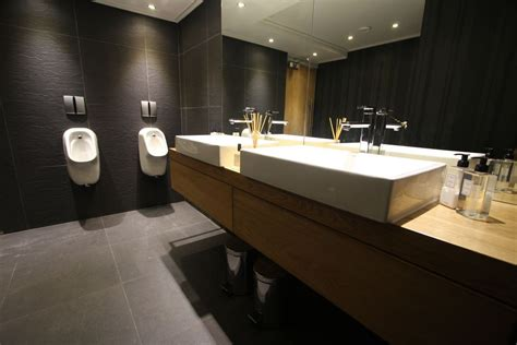 modern washroom how to design a interesting restaurant bathroom in modern style orchidlagoon com