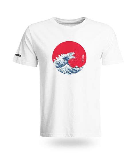 Japanese L S T Shirt japanese godzilla wave t shirt end 12 13 2018 11 10 am