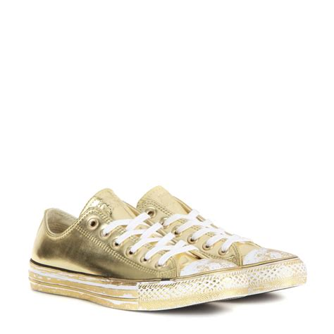 metallic sneakers converse chuck all metallic sneakers in