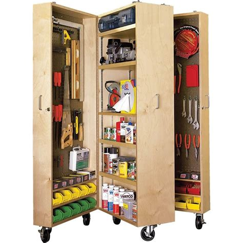 paper project plans  build  mobile tool cabinet