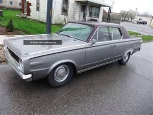 Dodge Dart 1966 1966 Dodge Dart Gt 4 Speed 273 Car Orig Now With Slant Six