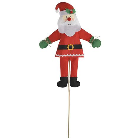 tall christmas light stakes path lights yard stakes outdoor decorations the home depot